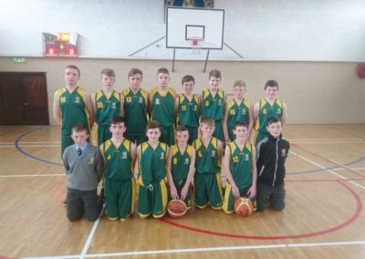 Basketball Team Photo