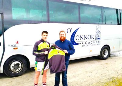Team Sponsorship By O'Connors